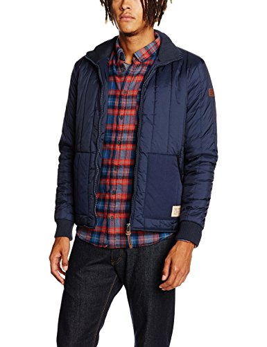 Redskins Matt Puffer, Impermeable Uomo, Blu (Navy Blue), Medium
