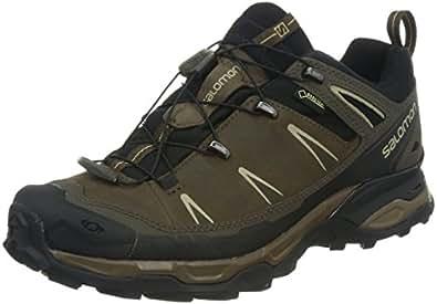 Salomon X Ultra LTR GTX Herren Trekking &Wanderhalbschuhe, Braun (Absolute  Brown-X/Black/Navajo), 40 EU