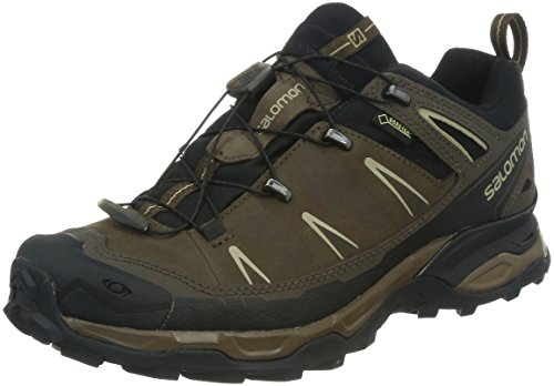 Salomon X Ultra LTR GTX - Scarpe da Arrampicata Basse Uomo, Marrone (Absolute Brown-X/Black/Navajo), 43 1/3 EU