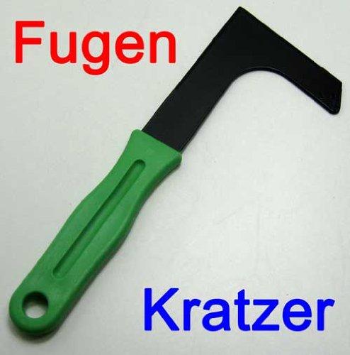 Fugenkratzer Metall mit Kunststoff Griff, Unkraut Fugen Reiniger Kratzer Stecher (LHS)