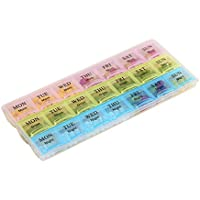 7Tage-Pillendose mit 21 Fächern preisvergleich bei billige-tabletten.eu
