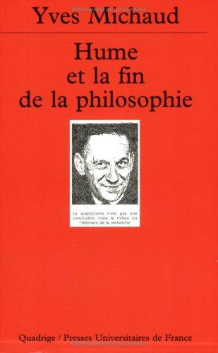 Hume et la Fin de la philosophie
