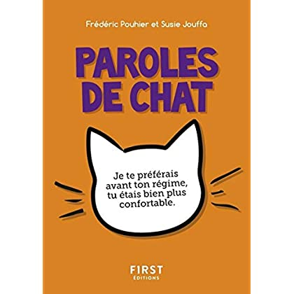 Petit Livre de - Paroles de chat