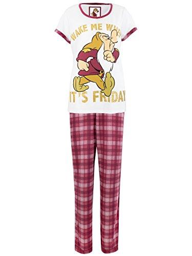 Disney Grincheux - Ensemble De Pyjamas - Grumpy - Femme Disney