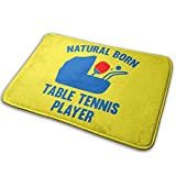 Door Mat Non Slip Indoor Table Tennis Evolution Natural Indoor Doormat Machine Washable Barrier Mat15.7' X 23.5'