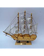 Happie Shopping Decorative Sailing Ship Showpiece(17x5x17cm)