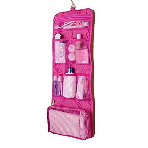 BlueBeach® Viajar Bolsas de aseo / Organizador cosmético del maquillaje portable y kit de afeitar de los hombres / Cuarto de baño de colgante Estuche de cosmética y kit de aseo de almacenamiento