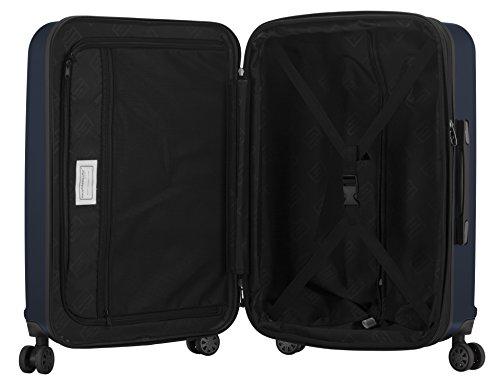HAUPTSTADTKOFFER - X-Berg - Koffer Trolley Hartschalenkoffer, TSA, 65 cm, 90 Liter, Dunkelblau - 5