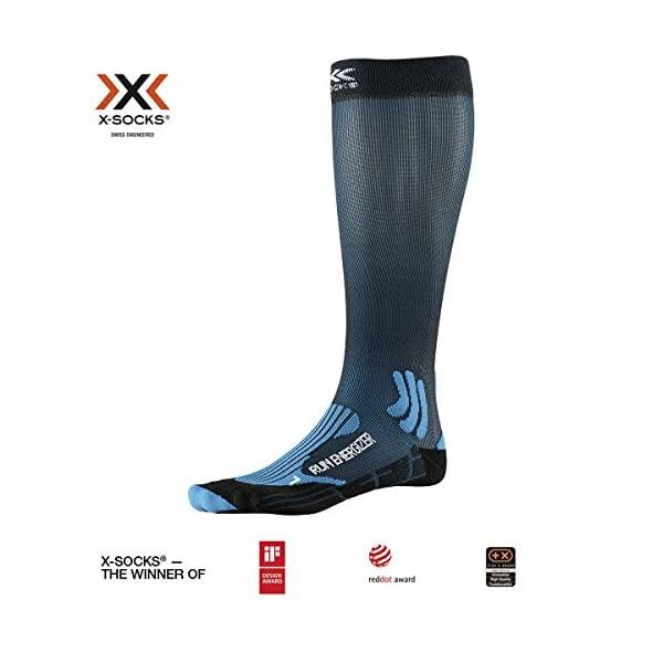 X-Socks Run Energizer Calzini Unisex-Adulto 1 spesavip