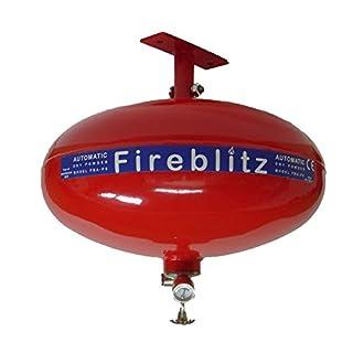 Fireblitz Automatic ABC Dry Powder Fire Suppression Unit - 4kg