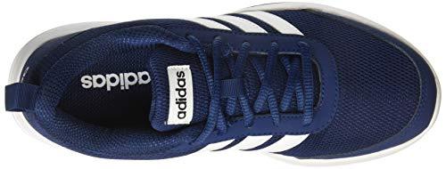 Adidas Men's Mysblu/Ftwwht/Cblack Running Shoes-10 UK (42 2/3 EU) (CM5866)