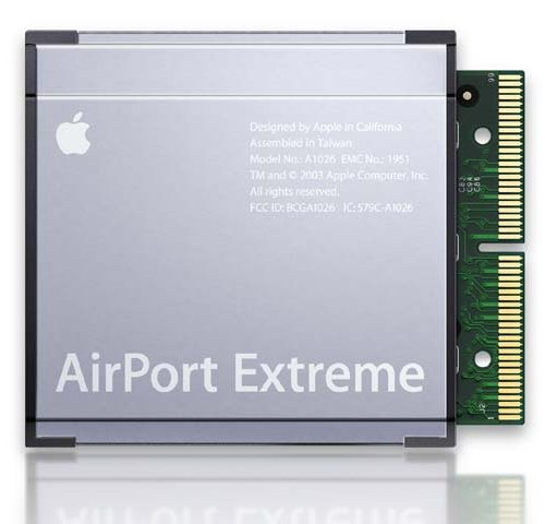 Apple Airport Extreme Wi-Fi Card 802.11n (MB988ZM/A) (G4 Airport)