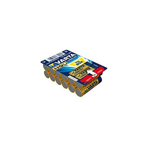 Galleria fotografica Varta Longlife Batterie Alcaline, AA Stilo, Big Box, Confezione da 12 Pezzi