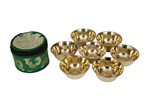 rituel-en-laiton-tibetain-offre-bowl-set-de-7