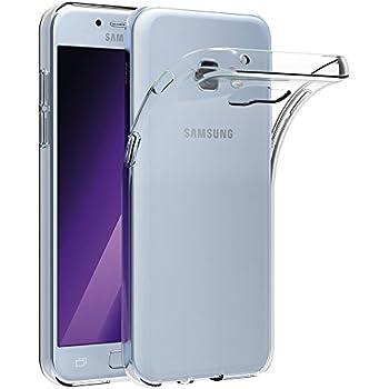 AICEK Compatible for Samsung Galaxy A5 2017 Coque Transparente Silicone Coque pour Galaxy A5