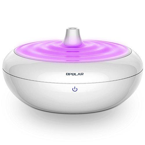 Luftbefeuchter Ultraschall 2000ml Kaltnebel Aromatherapie ätherisches Öl Diffusor 7 LED Farbwechsel Ultra Ruhig 14-25Stunden Gebrach AUTO Wasserleer schutz(bis 25㎡)