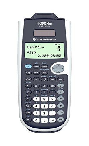 Texas Instruments 30XPLMV/TBL/3E1/A TI-30X Plus Multiview Taschenrechner, 4-zeilig