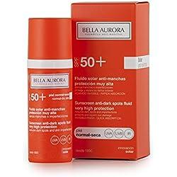Bella Aurora Fluido Solar SPF 50+ Antimanchas Piel Normal-Seca - 50 ml