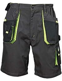Emerton® - Pantalones Cortos de Trabajo para Hombre para el Verano