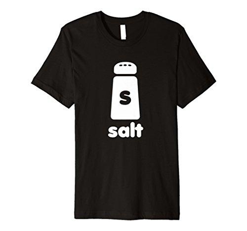 Salzstreuer Halloween einfach Kostüm lustig T-Shirt