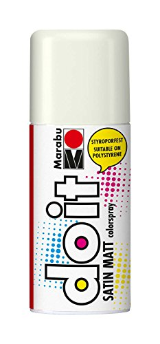 Marabu 21070006070 - Do it Colorspray Satin Matt, 150 ml, weiß