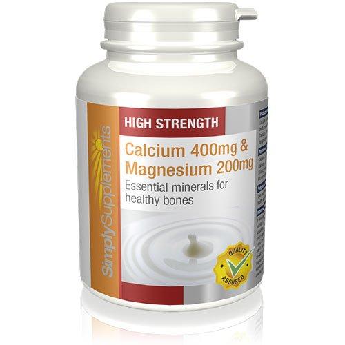 Calcio 400 mg y Magnesio 200 mg|Huesos, dientes y uñas|120 comprimidos|