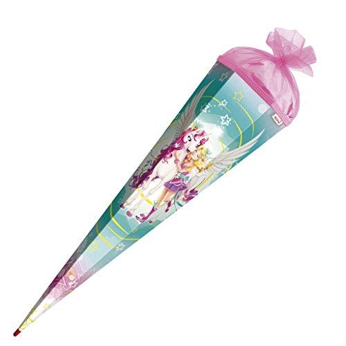 #Roth Schultüte Magisches Einhorn Zuckertüte Einschulung Schule Glitter Tüll Filz: Größe: 85 cm#