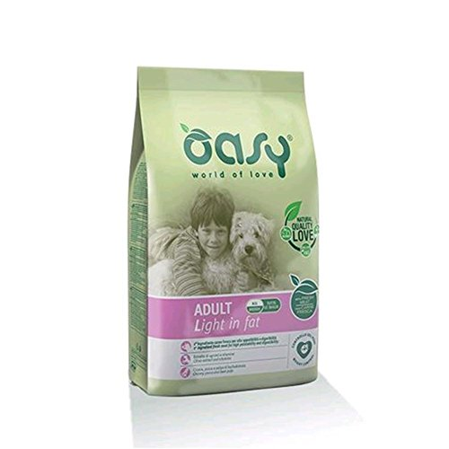 OASY Alimento secco per cane adult light in fat 3kg - Mangimi secchi per cani