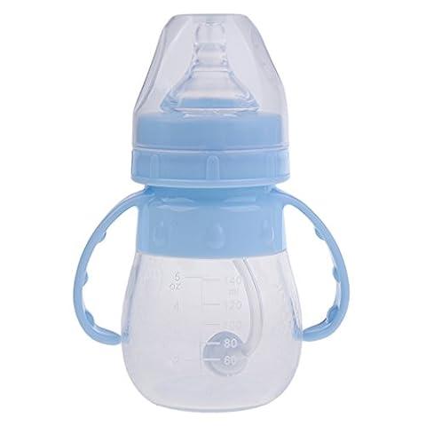 Sharplace Biberon Bébé à Lait Maternité Lait en Poudre - Bleu, 140ML