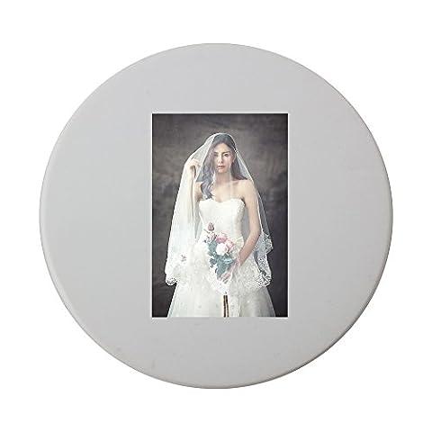 Wedding Dresses, Fashion, Character ceramic round coaster