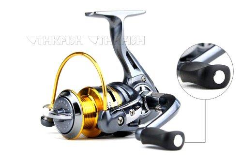 Promotion! ZFA5000 10+1BB Yolo pêche Moulinets pêche au lancer léger et ultraléger