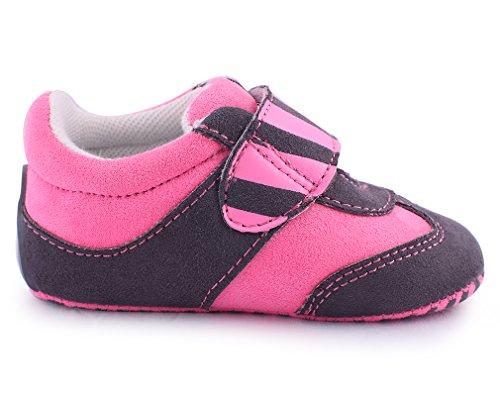 Cartoonimals Chaussures bébé enfant Chaussons Infantile Racoon Neon Pink