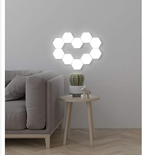 Minimalistische New Modern Led Wandleuchte Honeycomb Wall Modular Montiert Touch Light Dekorative Wandleuchte Set Nachttischlampe - Modular Schreibtisch