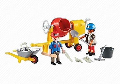 Playmobil ref. 6339. Obreros construccion hormigonera