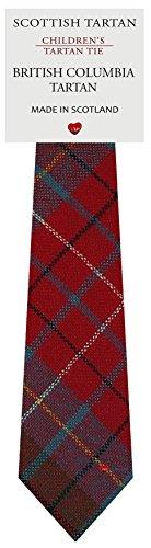 I Luv Ltd Garçon Tout Cravate en Laine Tissé et Fabriqué en Ecosse à British Columbia Canadian Tartan