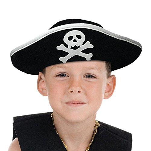 Boland 81909 Kinderhut Pirat, One Size