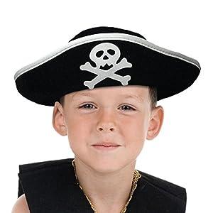 Boland 81909Niños Sombrero Pirata, One Size