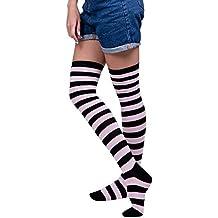 ... zapatillas vans niño el corte ingles. Kinlene Mujeres Sexy Muslo Alto Sobre La Rodilla Calcetines Medias largas
