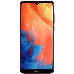 Huawei Y7 2019 Smartphone Débloqué 4G (6,26 pouces - 32 Go - Double Nano SIM - Android) Rouge
