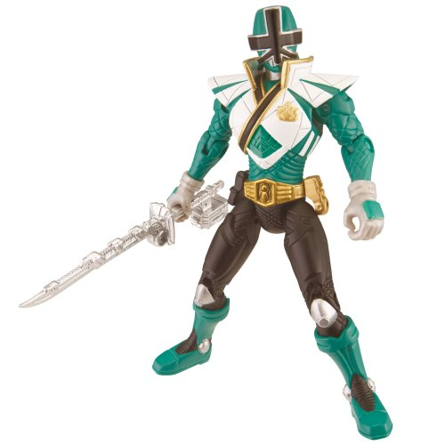 Power Rangers 31709 - Super Mega Ranger Actionfigur, (Ranger Grüne)