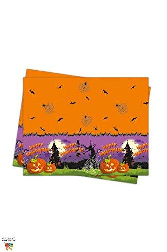 NEU Tischdecke Spooky Halloween, 120x180 -