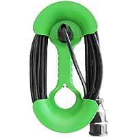 ViD - tambor de cable mano para cables de hasta 25 metros color verde