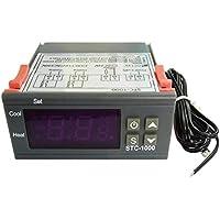 Termostato de control de temperatura multipropósito digital STC-1000 con sensor