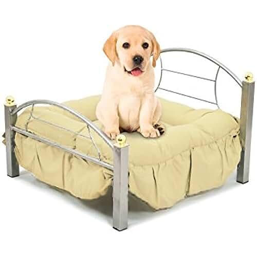 regalos tus mascotas mas kawaii B224 Cama para perros y gatos de hierro forjado SNOOPY 56.5 x 58 x 14.5 cm