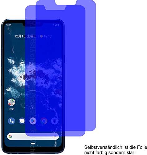 2X ANTIREFLEX matt Schutzfolie für LG Android One X5 Displayschutzfolie Bildschirmschutzfolie Schutzhülle Displayschutz Displayfolie Folie