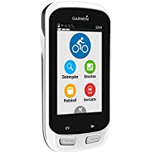 """Garmin Edge Explore 1000 - Computador para bicicleta (pantalla tactil de 3"""", GPS, IPX7, sensor de cadencia) blanco"""