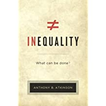 Inequality : What Can Be Done