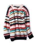 Kuschelweicher Angora-Pullover, herrlich warm & hohe Premium-Qualität, bunt (M)