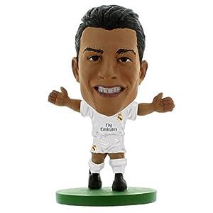 SoccerStarz Real Madrid Fc Cristiano Ronaldo Figure (2 Inches, Multicolor)