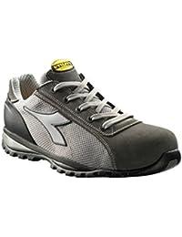 Diadora zapato de seguridad Glove II Texto S1P HRO SRA aluminio gris, talla 44